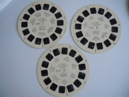 View-master Viewmaster C 4051 4052 4053 The Moselle Valley Germany I II III Reels Disques - Stereoscopes - Side-by-side Viewers
