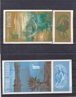 Rwanda - COB 2 Aquarelles Série 118 / 21 - De Dobon - Bovins - Document Unique - Rwanda