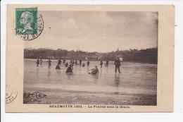 CPA 70 BEAUMOTTE 1922 La Prairie Sous La Glace - France