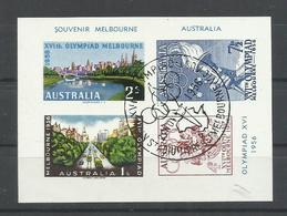 AUSTRALIA, H/B CONMEMORATIVA - Sommer 1956: Melbourne