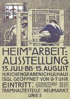 @@@ MAGNET - Heim-Arbeit-Ausstellung - Advertising