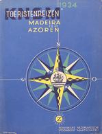 @@@ MAGNET - KNSM Toeristenreizen 1934 Madeira En De Azoren - Advertising