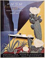 @@@ MAGNET - KNSM Zomerreizen 1938 Madeira - Advertising