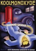 @@@ MAGNET - Koolmonoxyde, Sluipend Gevaar - Advertising