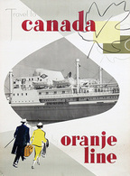@@@ MAGNET - Travel To Canada By Oranje Line - Advertising