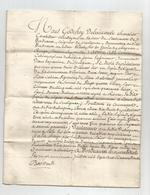 SOULIGNAC 1772 : DROIT  DEPRELATION CEDE PAR LE SEIGNEUR DE SOULIGNAC ..... - Manuscripten