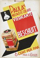 @@@ MAGNET - Vierkante Beschuit Paul C. Kaiser Rotterdam - Advertising