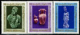 AC1106 Afghanistan 1969 Artifact Statues, Etc. 3V MNH - Afghanistan