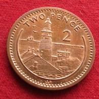 Gibraltar 2 Pence 2001 AB KM# 774  Gibilterra - Gibraltar