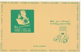 Buvard YVERT Et TELLIER-TBE - Stationeries (flat Articles)