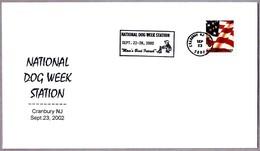 SEMANA NACIONAL CANINA - NATIONAL DOG WEEK. Cranbury NY 2002 - Perros
