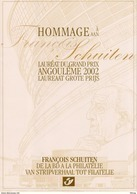 FOLDER HOMMAGE AAN FRANCOIS SCHUITEN ANGOULEME 2002 A 196 OPLAGE:750 - Cartes Souvenir