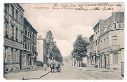 CPA Dos Non Divisé : NAMUR Salzinnes - Avenue D' Omalius, Vue De La Place Wirtz, Avenue Cardinal Mercier , Attelage - Namur