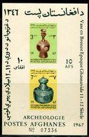 AC1107 Afghanistan 1967 Artifact Vaseware S/S MNH - Afghanistan