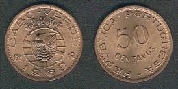 Cap Verde, 50 Centavos 1968, UNC - Cape Verde