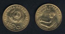 Cap Verde, 1 Escudo 1980, UNC - Cape Verde