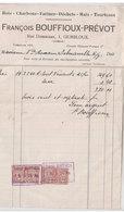Facture Charbon Gembloux 1924 - Belgium