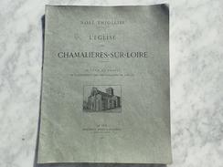 NOËL THIOLIER - L'EGLISE DE CHAMALIERES-SUR-LOIRE - 1901 IMPRIMERIE REGIS MARCHASSOU LE PUY  /BBS - 1901-1940