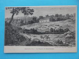 92 : RUEIL-MALMAISON : La BERGERIE De SAINT-CUCUFAT , C.P.A.,carte En Bon état,animée - Rueil Malmaison