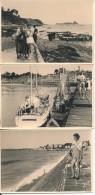 Lot De 11 Photos Amateur -35 CANCALE Et PARAMÉ Août 1955 Et 1956 - No CPA - Cancale