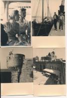 Lot De 17 Photos Amateur -35 SAINT MALO Août 1955 Et 1956 - No CPA - Saint Malo