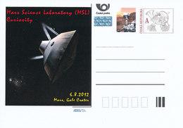 Rep. Ceca / Cart. Postali (Pre2012/45) Mars Science Laboratory (MSL) Curiosità, 6.8.2012 Mars, Entrata Guidata - Altri