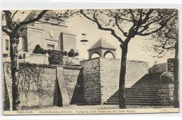 1 Ansichtkarte Darmstadt Ausstellungsgebaude - Aufgang Zum Gebaude Fur Freie Kunst - Darmstadt