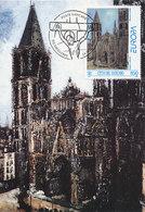 D34971 CARTE MAXIMUM CARD 1993 VATICAN - EUROPA CEPT PAINTING BY UTRILLO CP ORIGINAL - Europa-CEPT