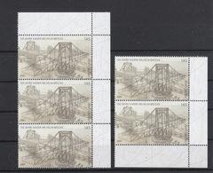 Deutschland BRD ** 2616 Kaiser Wilhelmbrücke Wilhelmshaven Bogenteile Postpreis 7,25 € - Ungebraucht