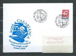 Sous Marin  CASABIANCA Dernière Patrouille Avant IPER Philatélie TOULON NAVAL 08/12/99 - Postmark Collection (Covers)