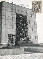 D34974 CARTE MAXIMUM CARD 1963 POLAND - MONUMENT TO GHETTO HEROES WARSZAWA CP ORIGINAL - WW2