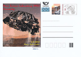 Rep. Ceca / Cart. Postali (Pre2012/46) Mars Science Laboratory (MSL) Curiosità, 6.8.2012 Mars, Discesa Potenziata - Altri