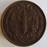 M02052  XX VERJARINGS FEST AAN DE MEDEWERKERS 1868 - 1888 (30g) - Professionnels / De Société