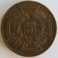 M02059  1870-1871 - DEMSIEGREICHEN HEERE - GOTT WAR MIT.....  (8g) - Adel