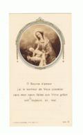 Image Pieuse - Souvenir 60 Ans De Vie Religieuse Rvd Mère Marie Elisabeth - Sanatorium Ste Agathe LIEGE 1935., Nun(b231) - Faire-part