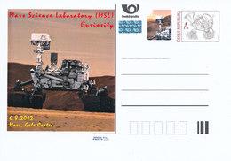 Rep. Ceca / Cart. Postali (Pre2012/47) Mars Science Laboratory (MSL) Curiosità, 6.8.2012 Mars, Gale Crater - Altri