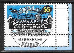 BRD 2011 / MiNr.   2890  Rechts Unten Ecke Mit Ersttagsstempel  O / Used  (d787) - BRD