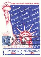 D34980 CARTE MAXIMUM CARD FD 1986 USA - STATUE OF LIBERTY NEW YORK CP ORIGINAL - Denkmäler
