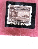 THAILANDE THAILAND TAILANDIA 1950 King Bhumibol Adulyadej And Palace KING 20s USATO USED OBLITERE' - Tailandia