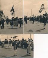 Lot De 5 Photos Amateur - 44 LA BAULE Procession Du Pardon Août 1957- No CPA - La Baule-Escoublac