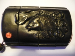 Inro-4-fach - Aus Bein (598) - Art Asiatique