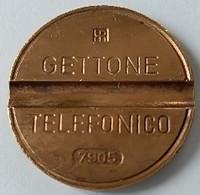 Jeton De Téléphone - GETTONE - TELEFONICO - N° 7905 - Italie - - Professionnels/De Société