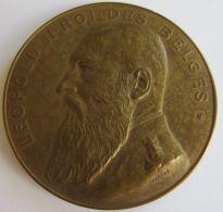 M05309 LEOPOLD II - ROI DES BELGES - CHAMBRE DE COMMERCE D'ANVERS CELEBRE L'ANNEXION DU CONGO A LA BELGIQUE 1909 (92 G) - Royaux / De Noblesse