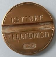Jeton De Téléphone - GETTONE - TELEFONICO - N° 6312 - Italie - - Professionnels/De Société