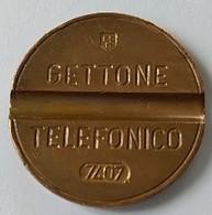 Jeton De Téléphone - GETTONE - TELEFONICO - N° 7407 - ITALIE - - Professionnels/De Société
