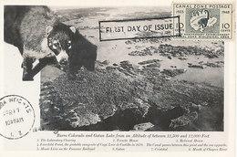 D34991 CARTE MAXIMUM CARD FD 1948 CANAL ZONE POSTAGE- COATIMUNDI CP ORIGINAL - Stamps