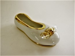 CHAUSSURE MINIATURE COLLECTION CAPODIMONTE SWAROVSKI LIMOGES - Other