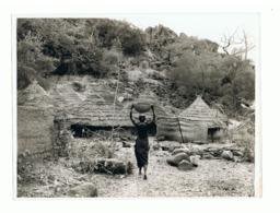 Afrique Noire - Congo ?? - Femme Indigène Rentrant Au Village ( Photo 18 X 24 Cm)  (fr65) - Africa
