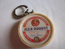Porte-clef Fromage Camembert Alex Buquet-mittois Calvados - Porte-clefs