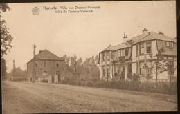 Herzele. Villa Van Doctoor Versnick. Villa Du Docteur Versnick Postkaart Onverstuurd. - Herzele